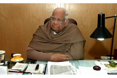 Former Lok Sabha speaker Somnath Chatterjee on the ventilator