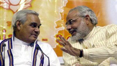 Atal Bihari Vajpayee: Remembering the moments of Modi and Atal Ji