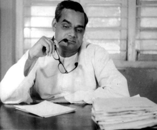 Atalji studied law with his father in the same class and the same hostel room