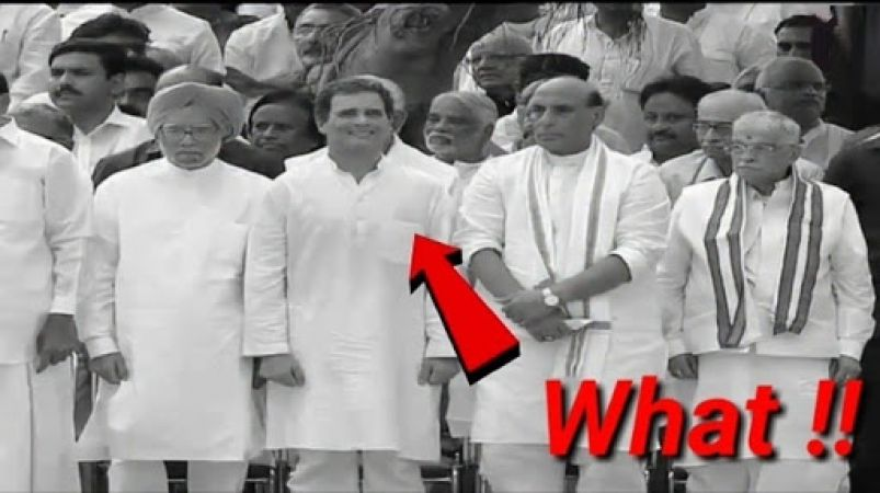 Rahul Gandhi creates controversy once again; smiles at Vajpayee's funeral