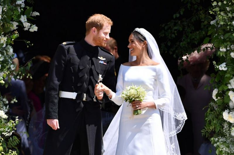 Here's why Meghan didn't toss her bouquet into the air