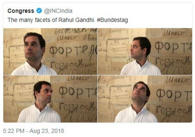 Twitterati can't stop trolling Rahul Gandhi's mugshots from Germany