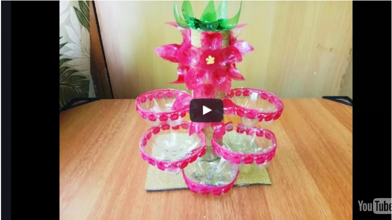 Best out of Waste: Reuse plastic bottles and decorate your