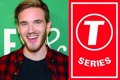 T Series to win the youtube battle against PewDiePie battle?