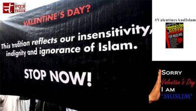 Watch Pakistan Muslims oppose Valentine's day celebration