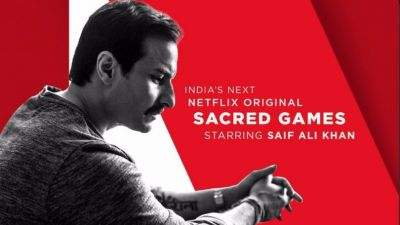 India's first Netflix original series 'Sacred Games' premiere launched