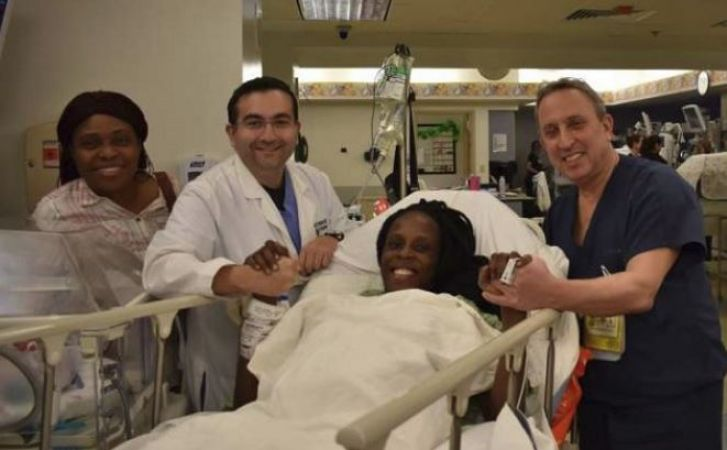 US woman beats odds,gives birth to 6 babies in 9 minutes