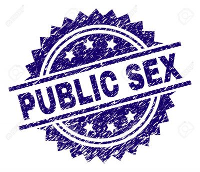 A couple found getting indulge in wild sex just outside the police station