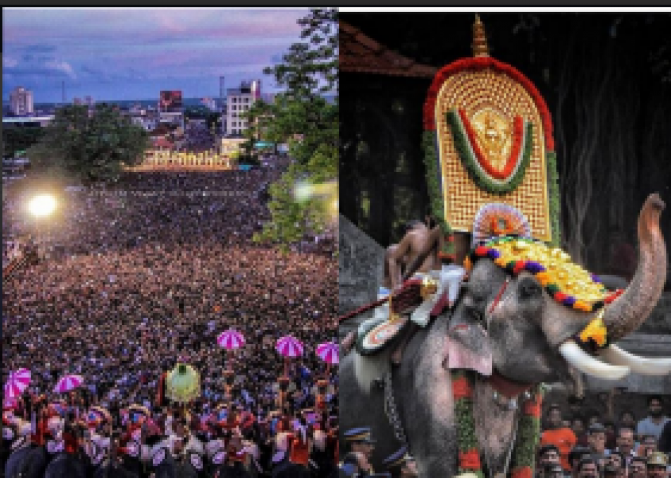 Thrissur Pooram, Kerala's Events Beautiful pictures cracked on the internet...check pics