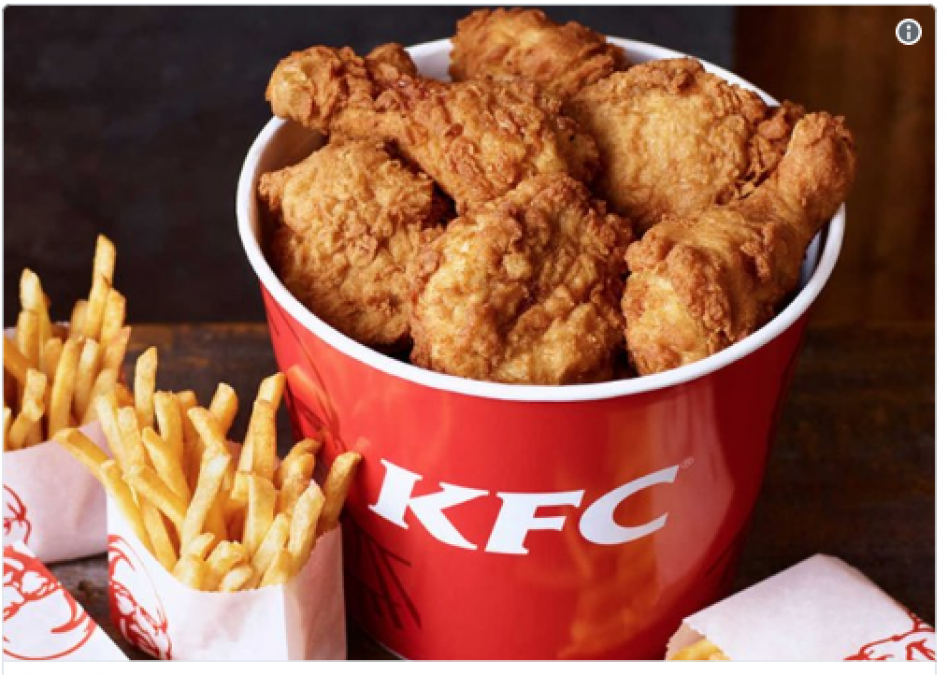 A man Cheated KFC by eating Free for a year; twitterati  salute him