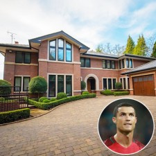 Cristiano Ronaldo Selling Manchester Mansion for £3.25M