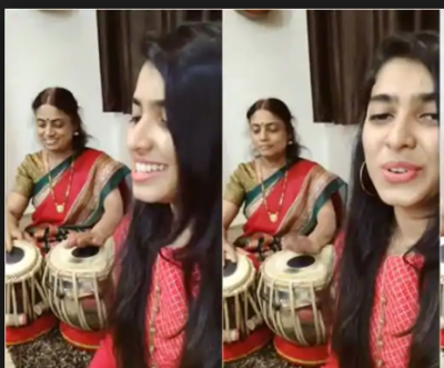 Viral Video! Mother- Daughter duo soulful performance of music goes viral