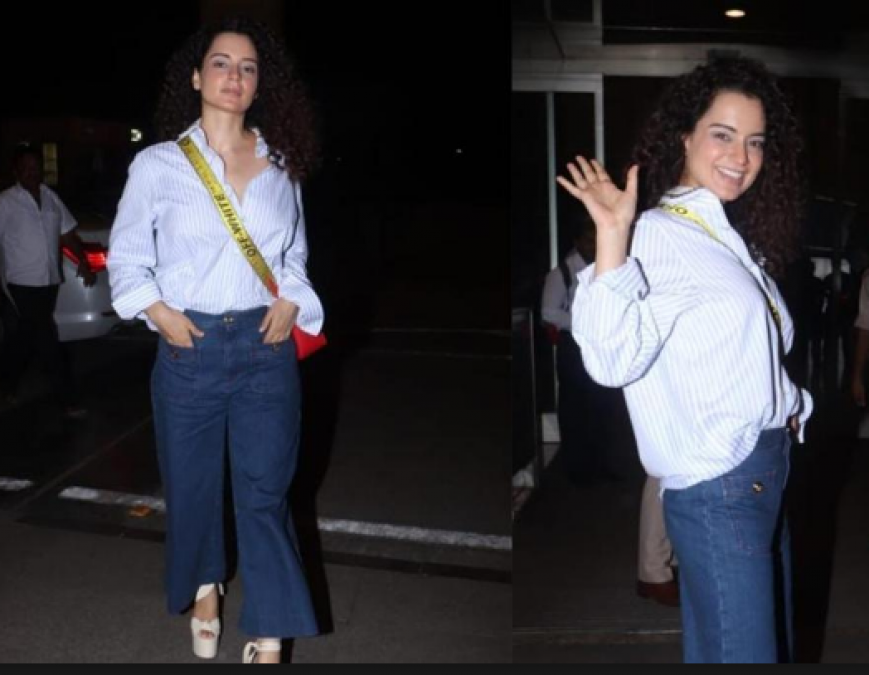 Kangana Ranaut is all set for her second appearance in Cannes 2019, files out of Mumbai