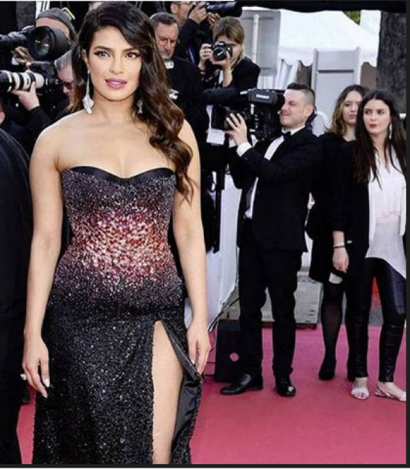 Baby Bump or Belly Fat? After Priyanka Chopra appearance in Cannes such talk raised