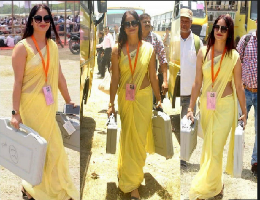 Election Duty officer Reena Dwivedi don't want to be an actress but want to go on this TV Show