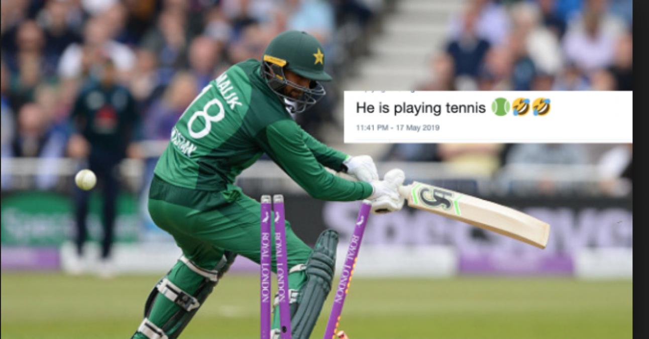 Shoaib Malik stump his own wicket, twitter get enough to troll him