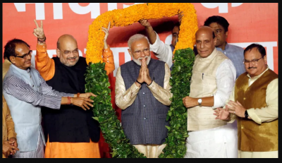 London Celebrated PM Modi win on LokSabha Election in this special way