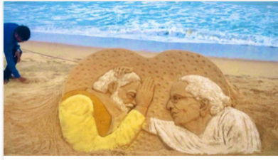 Sudarsan Pattnaik's sand art to welcome PM Modi goes viral