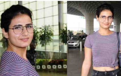 Dangel actress Fatima Sana Shaikh captured in a whole new avatar