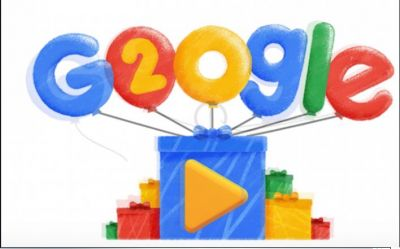 Happy Birthday Google!  The World's biggest Search engine turns 20
