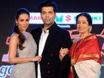 In pics :Karan,Malaika and Kirran at launching of IGT