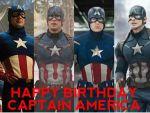 Happy Birthday Captain America!
