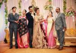 Divek posing with the Dahiya and the Tripathi families in Chandigarh