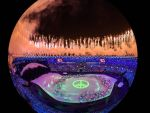 Captured! Rio Olympic's opening ceremony brighten whole Rio De Janeiro