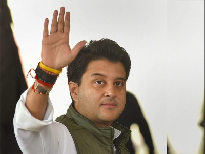 How Scindia is taking care of his area in Corona crisis?
