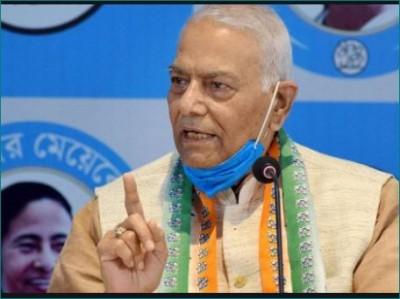 Yashwant Sinha blasting on JP Nadda, said- 'Mamata Banerjee has won election'