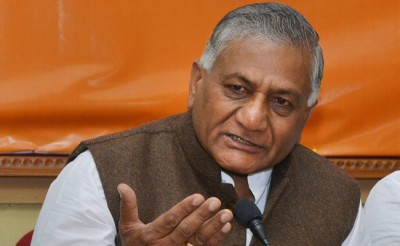 Congress leaders attack PM Modi's appeal, VK Singh gives a befitting reply