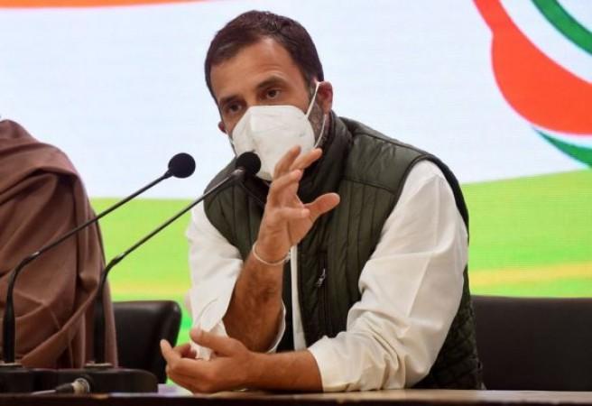 राहुल गांधी का केंद्र पर तंज, बोले- 'शमशान और क़ब्रिस्तान दोनों... जो कहा सो किया'