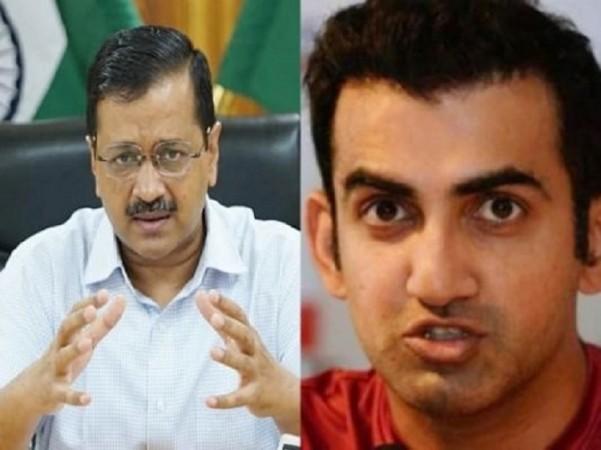 दिल्ली में बढ़ते कोरोना को लेकर सीएम केजरीवाल पर भड़के गंभीर, कही ये बात