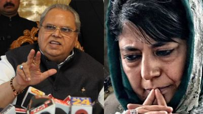 Mehbooba says 'an atmosphere of panic in Kashmir', governor says - 'Don't spread rumours'