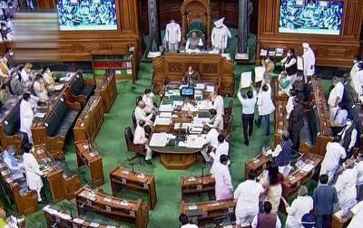 Monsoon Session: Opposition continues to create ruckus, govt passes crucial defense bill