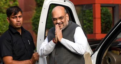 Home Minister Amit Shah launches attack on Congress' inefficiency