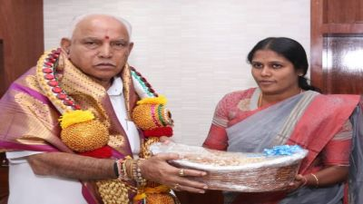 Major got fined for giving gift to C.M. Yeddyurappa, know whole matter