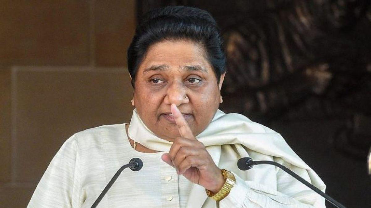 मोदी सरकार के समर्थन में मायावती, धारा 370 को लेकर दिया बड़ा बयान
