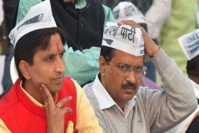 अनुच्छेद 370 पर केंद्र सरकार का समर्थन करने वाले केजरीवाल पर कुमार विश्वास ने साधा निशाना
