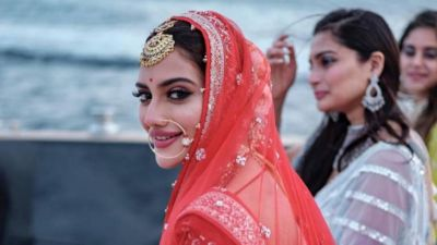 Nusrat Jahan posted photos of her honeymoon on social media, trollers said, got to Parliament too'