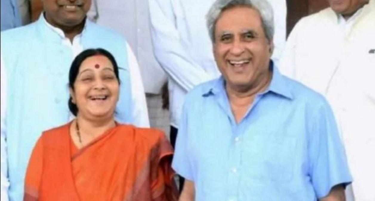 Sushma made her husband's name as her 'Sarname' throughout her life, knows how they met?