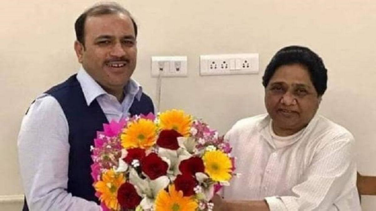 BSP MP Danish said this on Triple Talaq  and 370, Mayawati had to take action