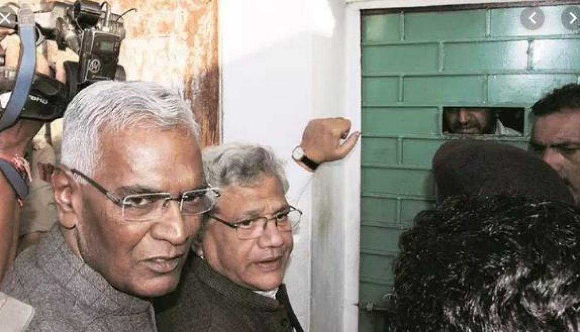 कांग्रेस नेता 'गुलाम नबी आज़ाद' के बाद इस नेता की श्रीनगर एयरपोर्ट से दिल्ली की वापसी