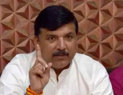 AAP leader Sanjay Singh slams Modi govt and BJP for not inviting president in Bhoomi Pujan