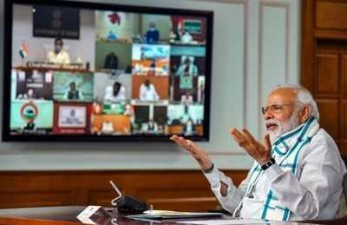 PM Modi to hold a virtual meeting with Chief Ministers on Covid-19 today
