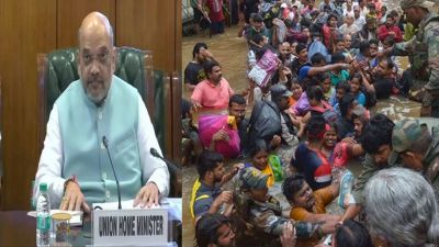 Karnataka: Amit Shah will visit flood-hit Belagavi district today