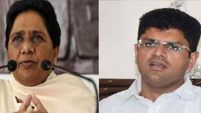 Chautala and Mayawati join hands for Haryana elections