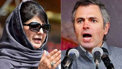 Omar Abdullah and Mehbooba Mufti  separates after a spat