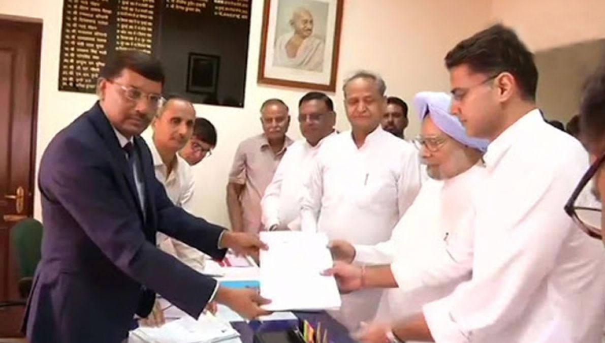 Rajasthan Rajya Sabha By-election: Dr. Manmohan Singh files nomination, BSP is supporting