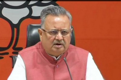 former CM Dr. Raman Singh's wife tested positive for corona